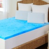 "Hotel Rio Marbleized Cooling Gel 2"" Memory Foam Topper"