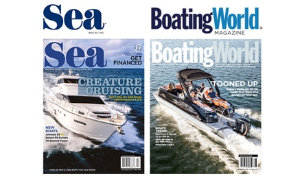 One-Year Subscription to Boating World or Sea Magazine (Up to 53% Off)