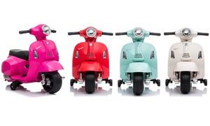 Scooter électrique Vespa enfant