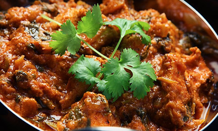 Persis Indian Grill - Montgomery: Dinner for Two or Four or Lunch Buffet for Two at Persis Indian Grill (Up to 57% Off)