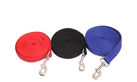 1x oder 2x Trainings-Leine für Hunde 5, 10 oder 20 m und in der Fabe nach Wahl