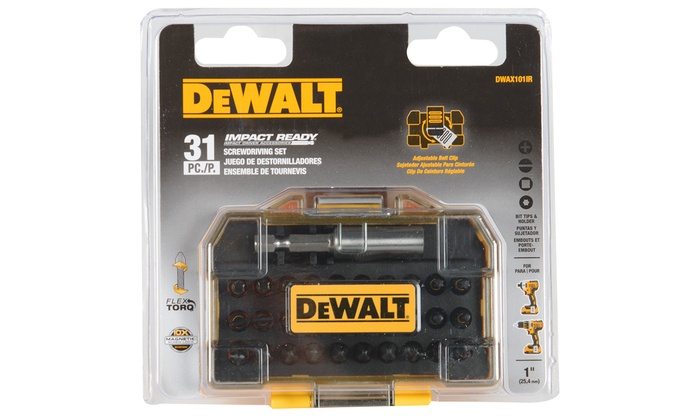DeWalt Impact Ready Screwdriving Set (31-Piece)