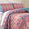 Spring Collection Reversible Printed Coverlet Set (2- or 3-Piece)