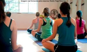 Studio Yoga Natarája: Studio Yoga Natarája – Paraíso: 1, 3 ou 6 meses de ioga com matrícula inclusa