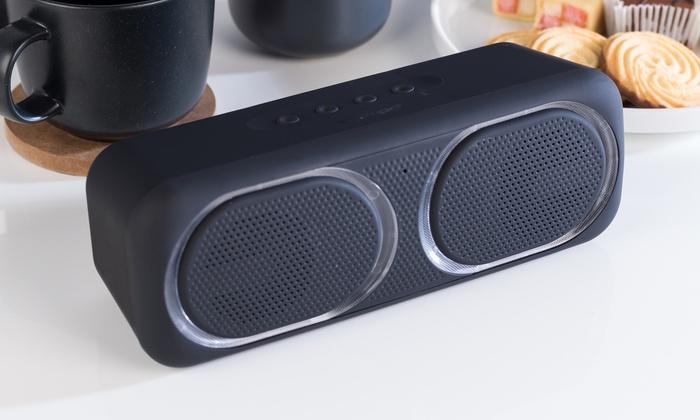 Intempo EE4874BLKSTKUK Wireless LED Light Bluetooth Speaker