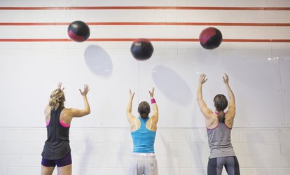 One Month of Unlimited <strong>CrossFit</strong> Classes for One or Two (Up to 83% Off)