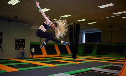 image for One-Hour Trampoline Park Access for One or Two at Jump 360 Newcastle (Up to 30% Off)