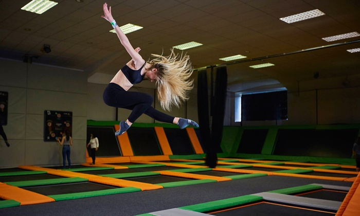 Jump 360 Hartlepool - Hartlepool: One-Hour Bouncing Session for One or Two at Jump 360 Hartlepool (Up to 30% Off)