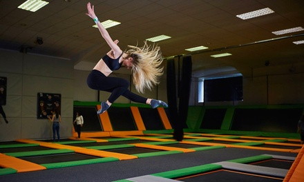 One-Hour Trampoline Park Access for One or Two at Jump 360 Newcastle (Up to 30% Off)