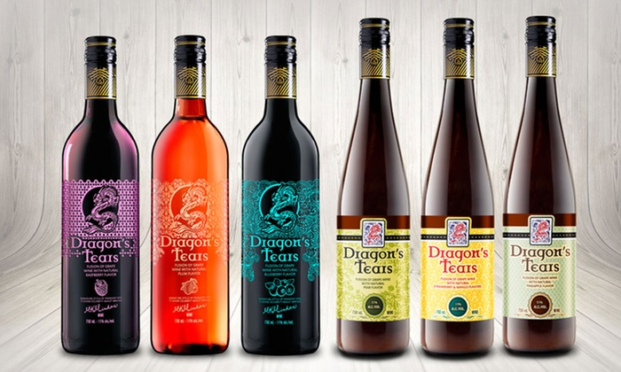 Dragon's Tears Wine and Fruit Fusion (6-Pack): Dragon's Tears Wine and Fruit Fusion (6-Pack)