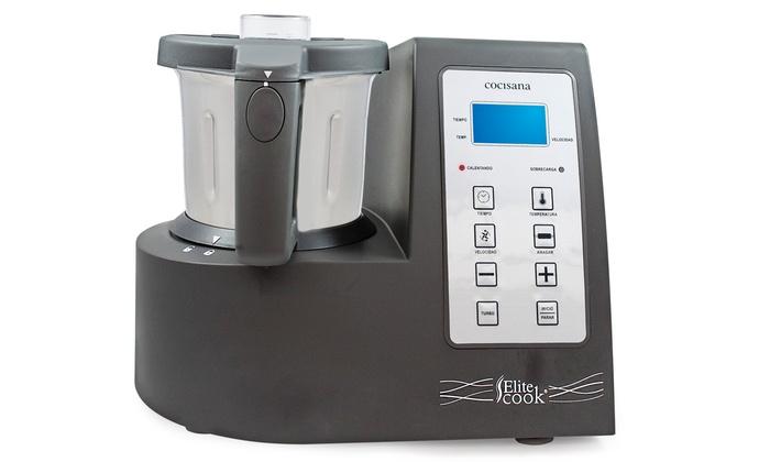Robot de cocina cocisana groupon - Robot cocina elite cook ...