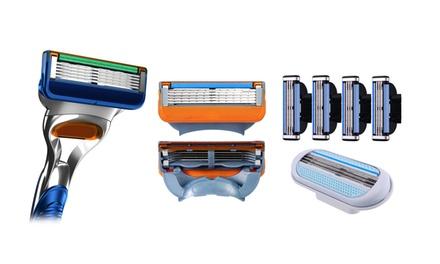 16 lames de rasoir compatibles avec Gillette Fusion, Mach 3 et Venus
