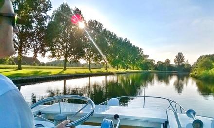 Verschiedene Ziele in Europa: bis zu 7 Nächten bis zu 8 Personen Kanal-Bootsfahrt mit Le Boat
