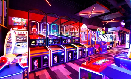 One $25 Arcade Game Card at AMF – Bowlero – Brunswick Zone (52% Off)