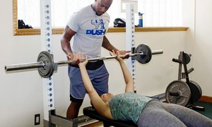 Push Universal Training: 8, 12, or 16 45-Minute Personal Training Sessions at Push Universal Training (Up to 59% Off)