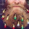 Beardaments Beard Ornaments (12-Pack)