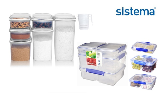 Sistema Food Storage Packs Groupon