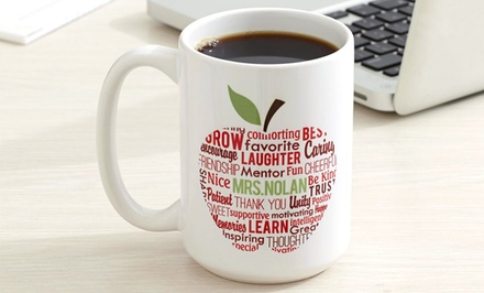 Personalized Apple for Teacher Mug from Personal Creations