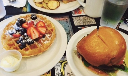 Food and Drinks at Allston Diner (Up to 47% Off). Four Options Available.