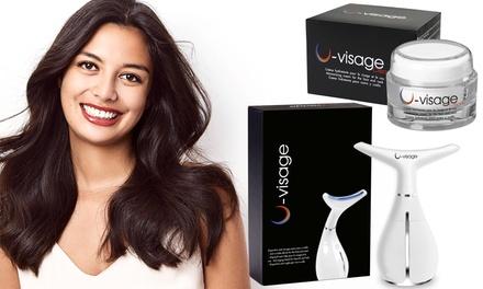 U visage hydraterende crème en/of apparaat voor huidverzorging van gezicht en hals