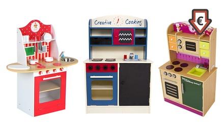 Cuisinettes en bois, 4 modèles au choix, dès 54,99€