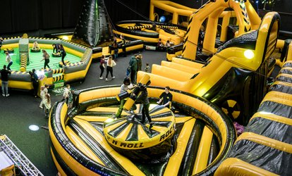Wacky World Inflatable Activity Arena Entry, 30 June - 8 July at Wacky World, Six Locations (Up to 34% Off)