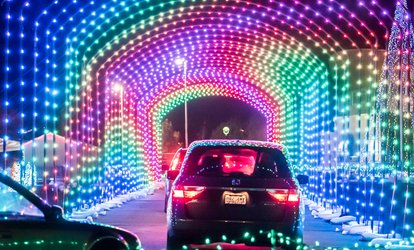 image for $18 for Admission for One Vehicle of Guests to Christmas in Color on November 24 – December 30 ($30 Value)