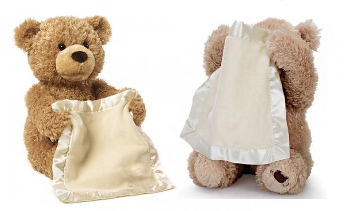 Peek-A-Boo Teddy Bear Toy