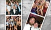 A Plus DJs & Photobooths: Three- or Four-Hour Photo-Booth Rental with Unlimited Photos and Included Props from Mojo Photobooths (Up to 55% Off)