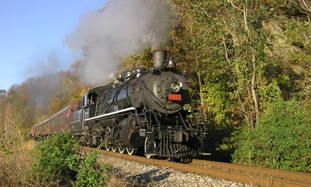 Admission for Two to Delaware River Railroad Excursions (Up to 50% Off). 29 Options Available.