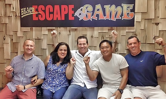 Beach Escape Game - Corey Ave: Room Escape Game for Two, Four, or Six at Beach Escape Game (Up to 28% Off)