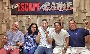 Beach Escape Game: Room Escape Game for Two, Four, or Six at Beach Escape Game (Up to 36% Off)