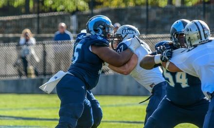 University of Rhode Island Football Games (September 8–November 17)