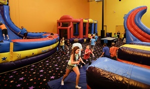 Up to 49% Off Jump Passes to Pump It Up at Pump It Up, plus 6.0% Cash Back from Ebates.