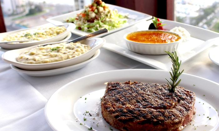 The Signature Prime Steak and Seafood - Ala Moana Hotel 36th Floor: $99 for a Three-Course Meal at The Signature Prime Steak and Seafood (Up to $153.70 Value)