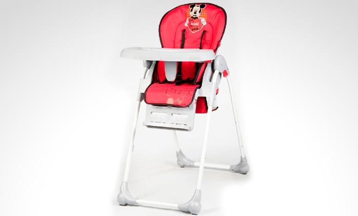 $1199 en vez de $1918 por silla de comer para bebé ultraliviana y caños reforzados con retiro
