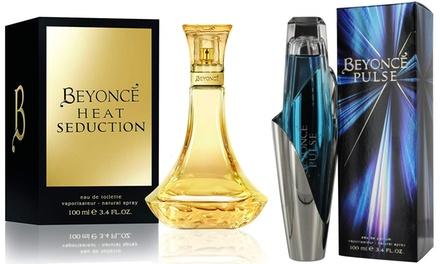 Beyoncé Pulse Eau de Parfum or Heat Seduction Eau de Toilette for Her 100ml
