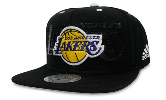save off e5f75 39ca2 Los Angeles Lakers 2014 adidas NBA-Draft Snapback Hat