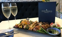 Choice of Sharing Plate with Bubbly for Two ($45), Four ($90) or Six People ($135) at Adam Arnold