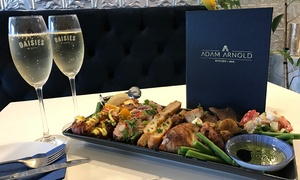 Adam Arnold: Choice of Sharing Plate with Bubbly for Two ($45), Four ($90) or Six People ($135) at Adam Arnold