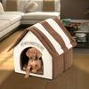 Home Sweet Home Plush Pet House with Cushion