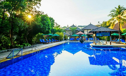 Kuta, Bali: 3, 5, or 7Night Escape for Two with Breakfast, Airport Transfers, and Drinks at Risata Bali Resort & Spa