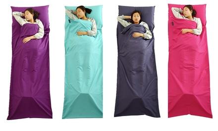 1 o 2 sacos de dormir de algodón plegables