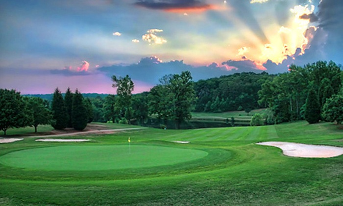 Hejaz Shrine Golf Club - Greenville: 18 Holes of Golf with Cart Rental and Range Balls for One or Four at Hejaz Shrine Golf Club (Up to 53% Off)