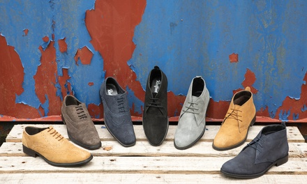 Suede Desert Boots or Brogues