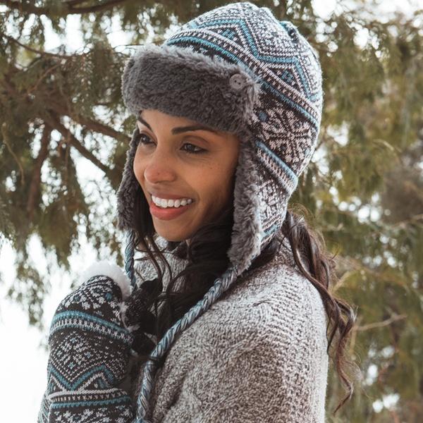 d65707e929308 Muk Luks Women's Trapper Hat | Groupon