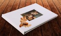 1 ou 2 livres photo A4 de 20, 40 ou 60 pages avec fenêtre personnalisable dès 12,95 € sur Printerpix (jusquà - 84 %)