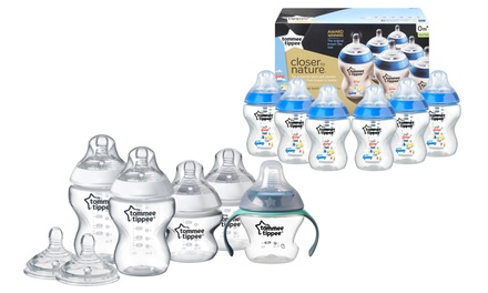 $29 for Tommee Tippee Feeding Bottles: Starter Kit or Six Bottles (Don't Pay up to $47.48)