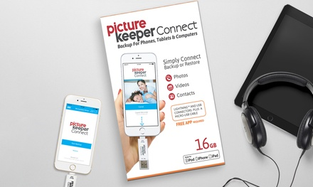 16GB USB Photo-Saving Device for iOS and Android Mobile Devices from Picture Keeper (50% Off)