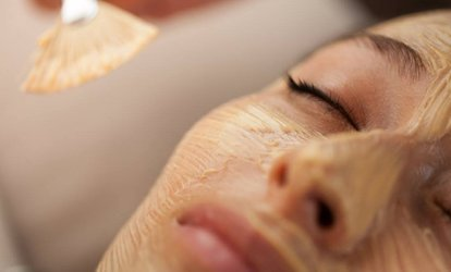 One 60- or 90-Minute <strong>Facial</strong> with Choice of One Add-On at Massage Heights (Up to 58% Off)